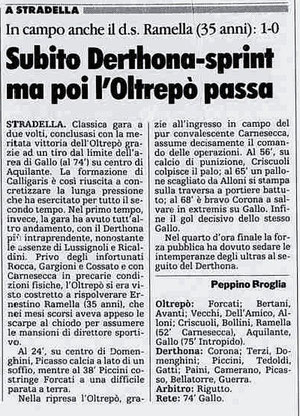 1990-91 Oltrepò-Derthona 1-0