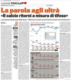 Gazzetta dello Sport 20 Aprile 2013