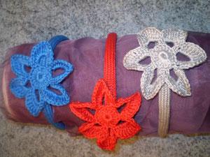 diademas de crochet