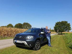 Mein Dacia Duster und ich