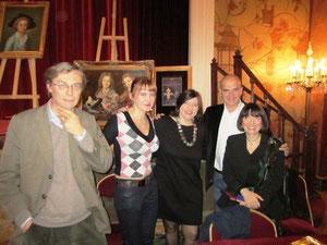 Pose avec la délicieuse Clémentine Portier Kaltenbach, lauréate 2010 du prix de l'Histoire du Guesclin...