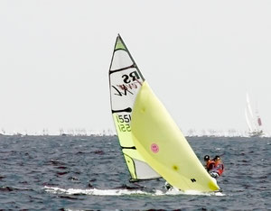 Team Horner / Bindzus (hier bei der Sail Extreme in Kerteminde)