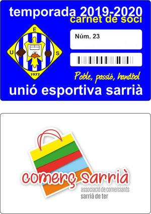 CARNET SOCI temporada 19-20