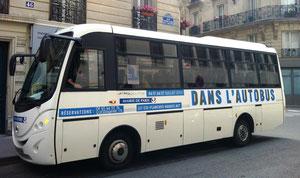 panneau magnétique grand format pour bus