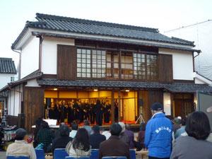 倉敷川物語 ふるさとミニコンサートin倉敷物語館(2011.12月)