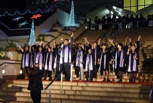 イオンモール倉敷・2011イルミネーション点灯式LIVE