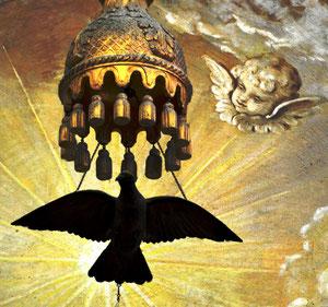 La colombe eucharistique du Choeur