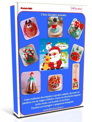 tutorial cake design natale