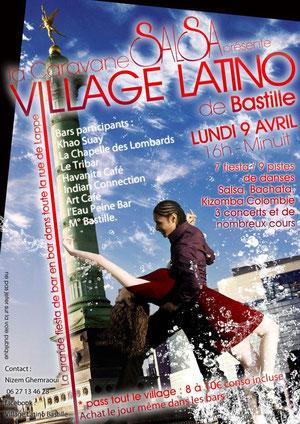 Village Latino de Bastille 2012