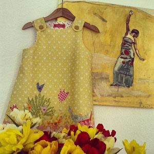 musterkitz Piepmätze Kleid
