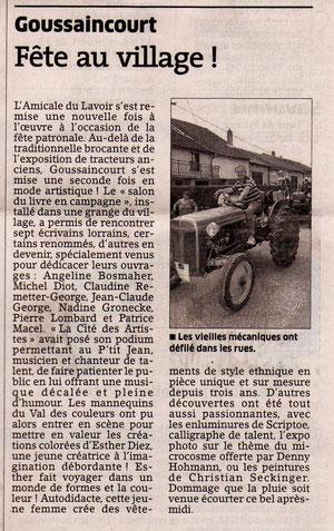 Est Républicain du 02 07 2012 - édition de Meuse