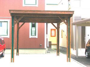 木製カーポー製造 札幌