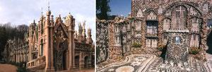 Le palais Idéal et la maison de picassiette