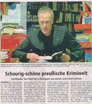 Ruppiner Anzeiger 17.11.2012