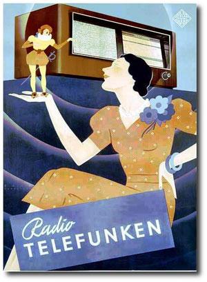 Pubblicità Telefunken
