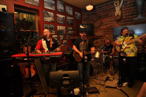 Junk Belly rocking the house for the 15th Anniversary Party! May 2010