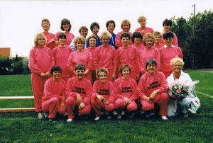 Die Damenturnabteilung im Juli 1986