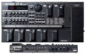 Get the David Gilmour/ Pink Floyd Sound - Then look to get the  BOSS GT-8 TUTORIAL DVD MAKES WORKING AND CREATING A SYNCH!