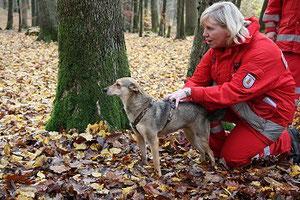 Alinas Schnuppertag als Rettungshund 2009