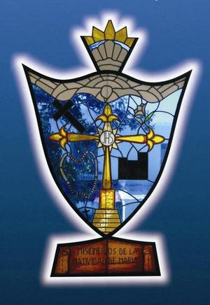 Escudo de los Misioneros y Siervas de la Natividad de María