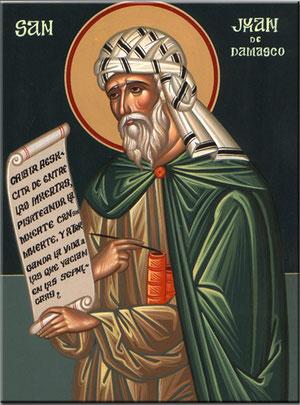San Juan Damasceno, Obispo y Doctor de la Iglesia