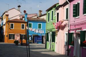 les couleurs des maisons de Burano