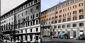 Hotel Nuova Roma, antes y después