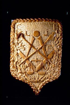 Blason des compagnons boulangers  du musée du compagnonnage de Tours