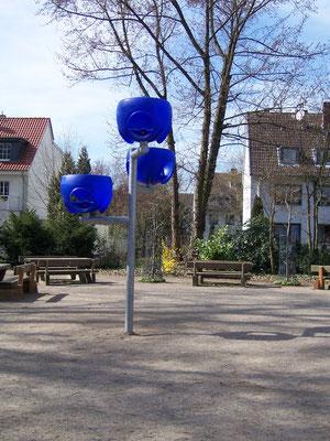 Basketballkörbe für die Klassen 1 und 2, Sitzbänke