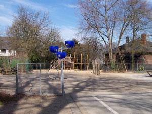 Torwand, Basketballkörbe für die Klassen 1 und 2