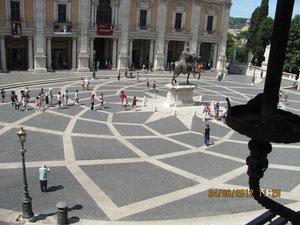 Auf dem Kapitol in Rom