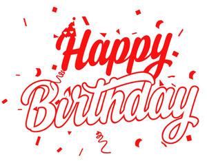 Happy Birthday Geburtstag
