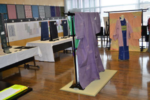 茨城・栃木繊維工業指導所試作作品展
