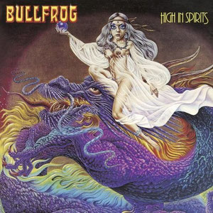 CD: Bullfrog - High in spirits