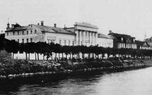 Das Ritterhaus in Mitau