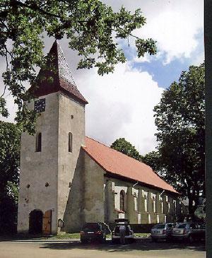 Abschluß der Erneuerung des Hauptdaches der Kirche zu Durben
