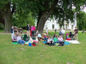 Picknick im Jenisch Park