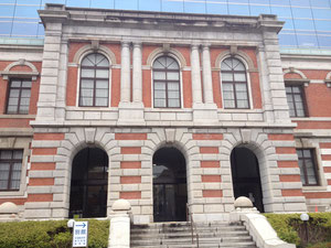 神戸地方裁判所です。風格がありますね。