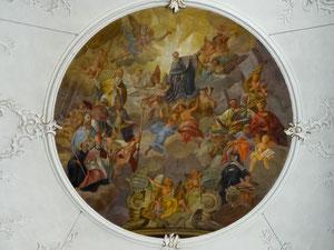 Deckengemälde, St. Agatha, Schmerlenbach