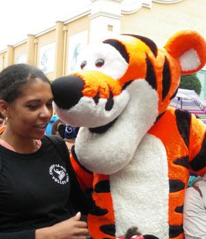 Tigrou aime le CRVB (envoi Mélanie)