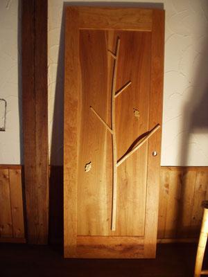 木製ドア 室内ドア 施工例 かわいい 木のドア