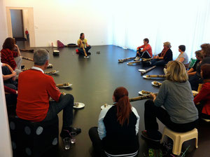 1. Didgeridoo-Workshop 2012 in Basel