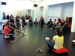 2. Didgeridoo-Workshop 2012 in Basel