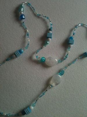 Lange Perlenkette / 12 €