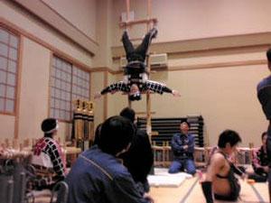 加賀鳶の練習