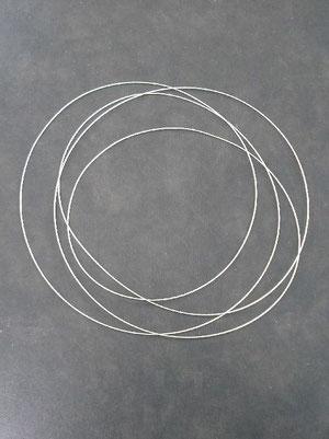 直径1mmのエンドレスワイヤ