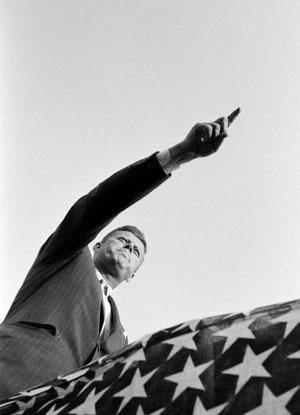 JFK le 17 novembre 1960.