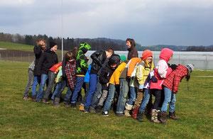 DreamTeam Schulbesuch Ammerswil
