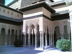 De Leeuwenhof in het Alhambra