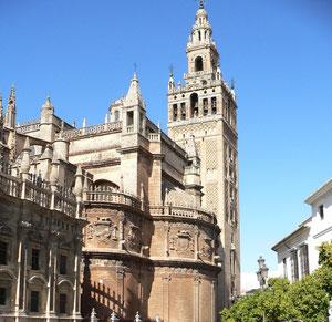 Kathedraal en Giralda Sevilla
